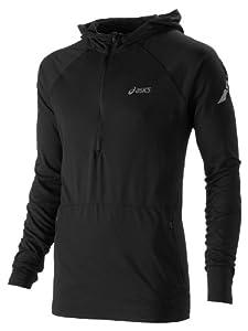 ASICS SOUKAI Half-Zip Manches Longues Hooded T-shirt Course à Pied - XXL