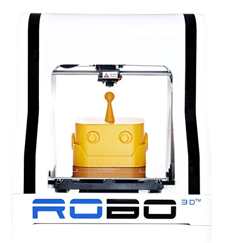 ROBO 3D R1 Plus Fully Assembled 3D Printer, 8
