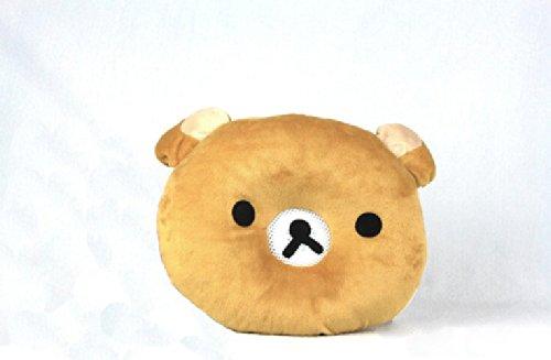 Cartoon Animal Light Brown Bear Design Therapy Music Speaker Sound Asleep Sleeping Pillow W/ 3.5Mm Plug