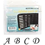 27 Piece Uppercase Calligraphy Alphabet Letters Punch Set For Metal 3mm