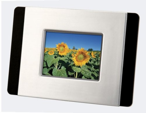 Sylvania DPF247 2.4-Inch Digital Photo Frame (Silver)