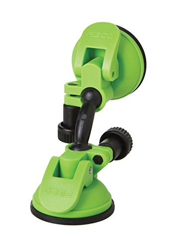 Compact 360 Degree Phone Angle Swivel Mobile And Tablet Suction Mount Holder with Dual Suction Cup, Green