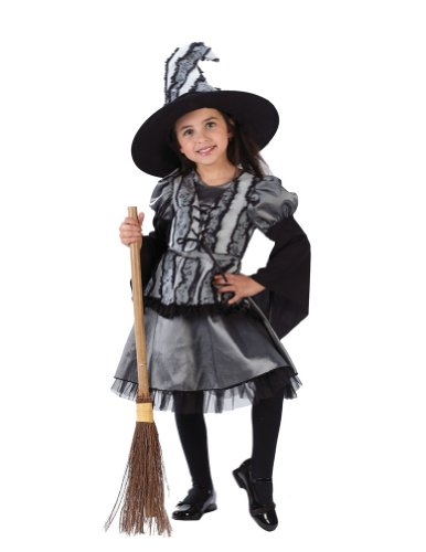 baby-girls - Goth Rose Witch Toddler Costume 24M To 2T Halloween