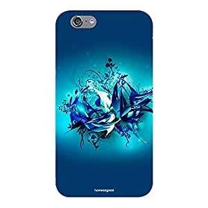 Homesogood Awesome Blue Cave Designed Multicolor Case For iPhone 6 (Back Cover)