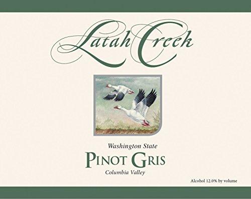 2013 Latah Creek Winery Sunnyside Vineyard Pinot Gris 750 Ml