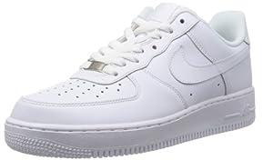 Nike Men's Air Force 1 '07 White/White Basketball Shoe 12 Men US