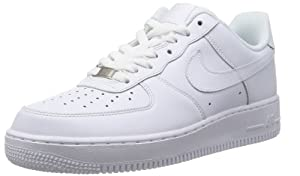 NIKE MENS AIR FORCE ONE SNEAKER (SIZES 7-14) White - Footwear/Sneakers 10