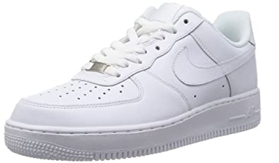Nike Women's Air Force 1 '07 Shoes 315122 White/White 10.5