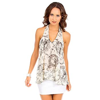G2 Fashion Square Women's Abstract T Back Top coupon codes 2015