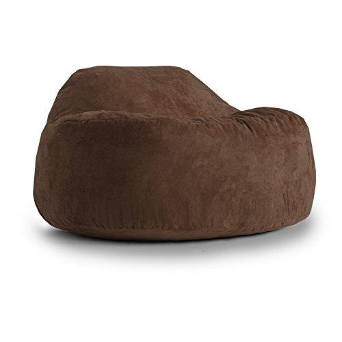 Fuf Chillum Cloud 9 Comfort Suede Bean Bag, Espresso (Comfort Research Espresso compare prices)