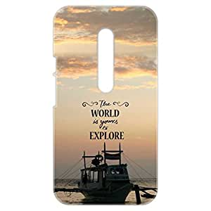 a AND b Designer Printed Mobile Back Cover / Back Case For Motorola Moto X Play (Moto_XP_3D_1602)