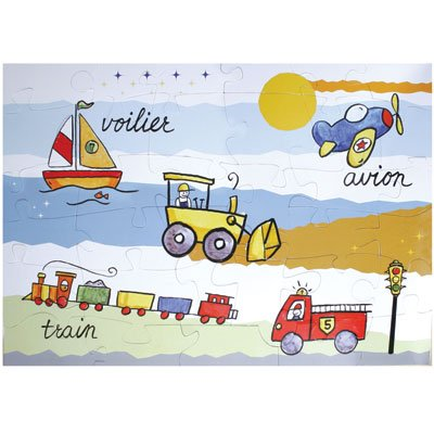 Cheap Fun Baby Cie Transportation Puzzle in a Lunch Box (B000NE37DU)