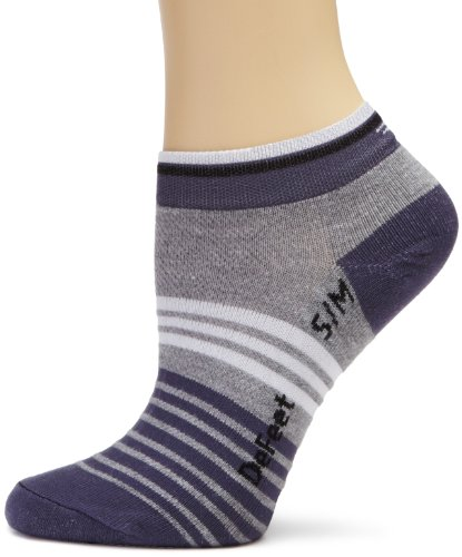 Image of DeFeet Women's Speede Slinky Grey Sock (SPDSLG101-P)