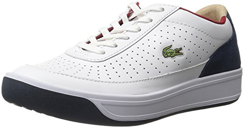 Lacoste Women's Aceline 316 2 Spw Wht/Nvy Fashion Sneaker, White/Navy, 9 M US