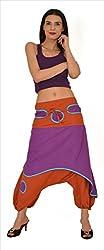 SNS 100% Pure Cotton Harem Sarouel Yoga Pant Pajama