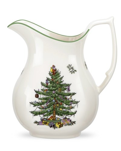 Spode Christmas Tree Earthenware Pitcher