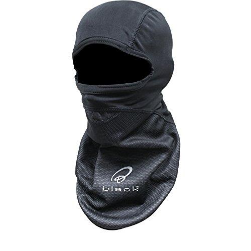5003 - Black Winddichtes Motorrad Sturmhaube auch für Radsport Skisport Snowboard und andere nutzungen geeignet