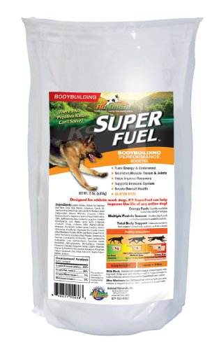 Animal Naturals K9 'Super Fuel' Body Building And Performance Supplement, 15-Pound