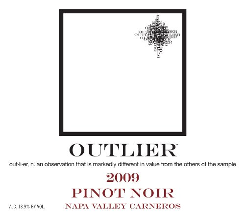 2009 Bravium Winery Outlier Pinot Noir Napa Carneros, 750Ml