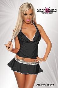 SARESIA Women's Bikini Set One size -  Black - Black - One size
