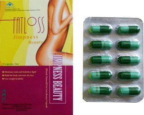 Jimpness Beauty - Fat Loss Slimming Beauty Capsule Diet Pills5 Boxes 10 Capsule 5 Pack from Jimpness