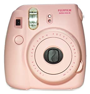 New Model Fuji Instax 8 Color Pink Fujifilm Instax Mini 8 Instant Camera