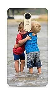 Amez designer printed 3d premium high quality back case cover for Xiaomi Redmi Note 3 (Kids love children cool)