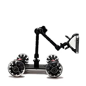 Photography & Cinema Pico Flex Dolly Kit Digital Dslr Skater Camera Dolly Slider Table Top Dolly Kit