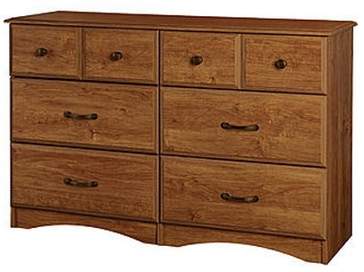 Grayson 6 Drawer Chest Dresser - Bank Alder