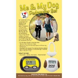 Image of Me and My Dog Pedometer Set (B00873PDOK)