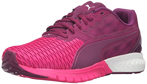 PUMA Women's Ignite Dual Wn's Running Shoe, Magenta Purple/Pink Glow, 6 M US