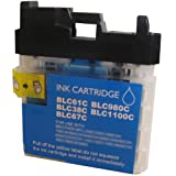 Cyan CiberDirect Compatible Ink Cartridge for use with Brother MFC-J615W Printers.