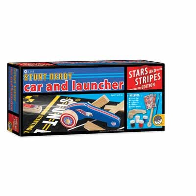KEVA Stunt Derby Extra Car and Launcher Set - 1