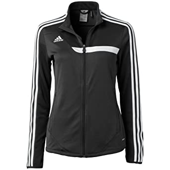 Adidas Women's Tiro 13 Training Jacket , Black, S