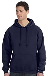 Russell Athletic Men's Dri Power Hooded Pullover Fleece Sweatshirt, Navy, Medium