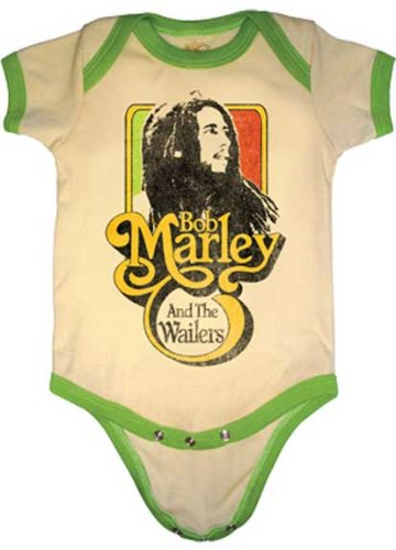 Bob Marley and The Wailers Onesie (6-12Months)