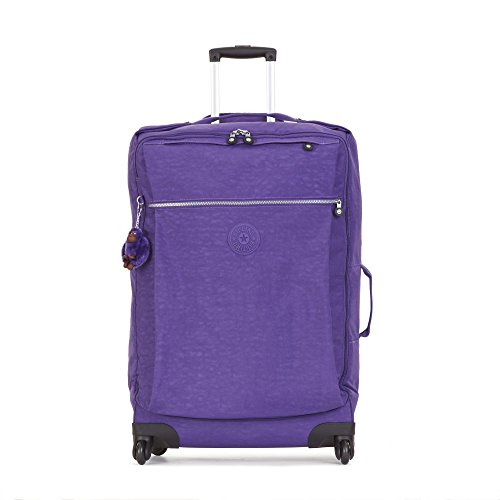 Kipling Women's Darcey Large Wheeled Luggage One Size Precisely Purple