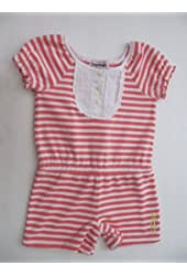 Juicy Couture Romber Terry Girls Pink/white Stripes