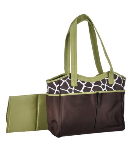 "Baby Essentials ""Urban Jungle"" Diaper Bag - brown, one size"