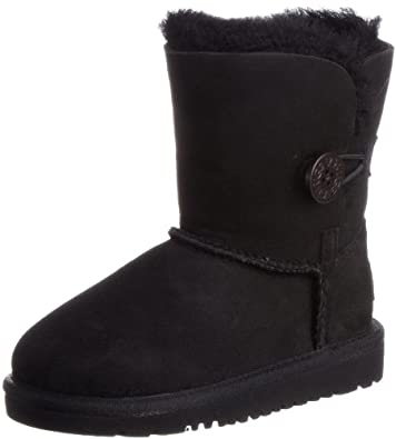 Ugg Australia Infant Bailey Button Black Classic Boot 5991 1 UK