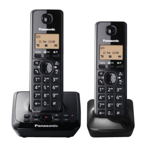 Panasonic KX-TG2722EB Twin DECT Cordless Telephone Set with Answer Machine images