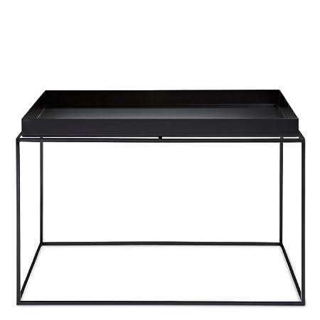 Tray Table Beistelltisch Schwarz large (60 x 60 cm)