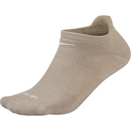 Nike Men'S Dri-Fit Performance Tab Golf Socks, Chino/White, 10-13 (Shoe Size 6.5-12)