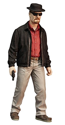 "Mezco Toys Breaking Bad: Heisenberg (Red Shirt Version) 12"" Action Figure"