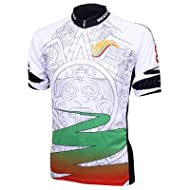 World Jersey's Mexico Azteca Short Sleeve Cycling Jersey