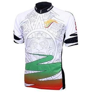 World Jersey's Mexico Azteca Short Sleeve Cycling Jersey (Mexico Azteca - XXL)
