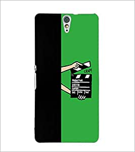 PrintDhaba Film D-4210 Back Case Cover for SONY XPERIA C5 ULTRA (Multi-Coloured)