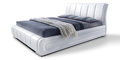 Polsterbett-mit-Lattenrost-Designer-Bett-Danville-wei-gesteppt-Bettgestell-Ehebett-Doppelbett-140x200-cm