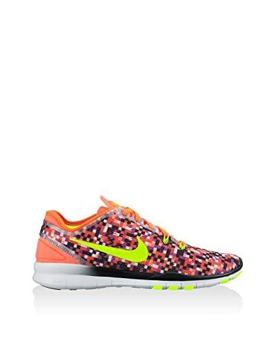 Nike Sneaker Wmns Nke Free 5.0 Tr Fit 5 Prt [Arancione/Viola]