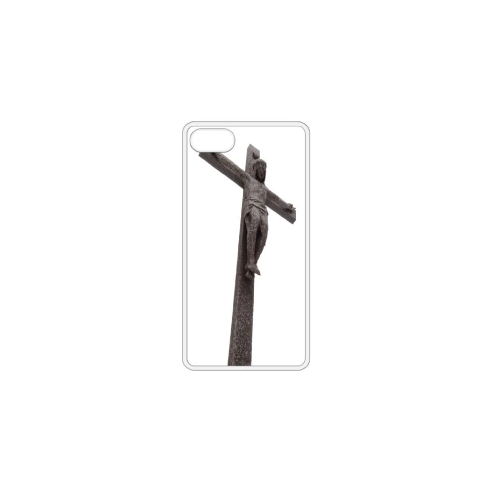 Jesus Christ Image   White Apple Iphone 5 Cell Phone Case   Cover